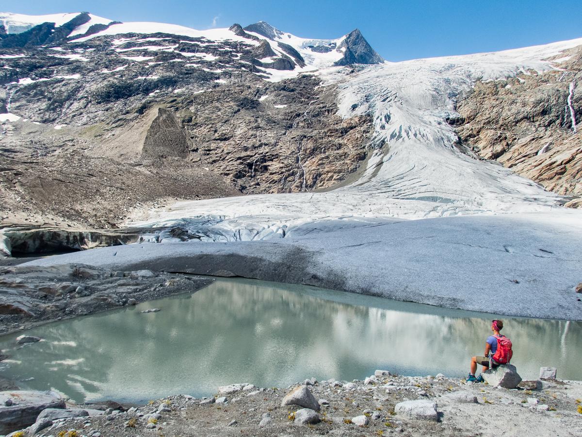 #4 Der beeindruckende Gletscher unterhalb des Großvenedigers