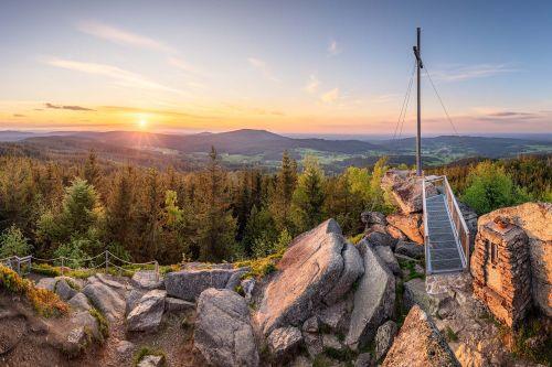 Nebelstein-Panorama © Gemeinde Moorbad Harbach, Reinhard Podolsky