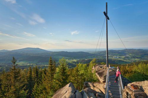 Nebelstein Gipfel © Gemeinde Moorbad Harbach, Reinhard Podolsky