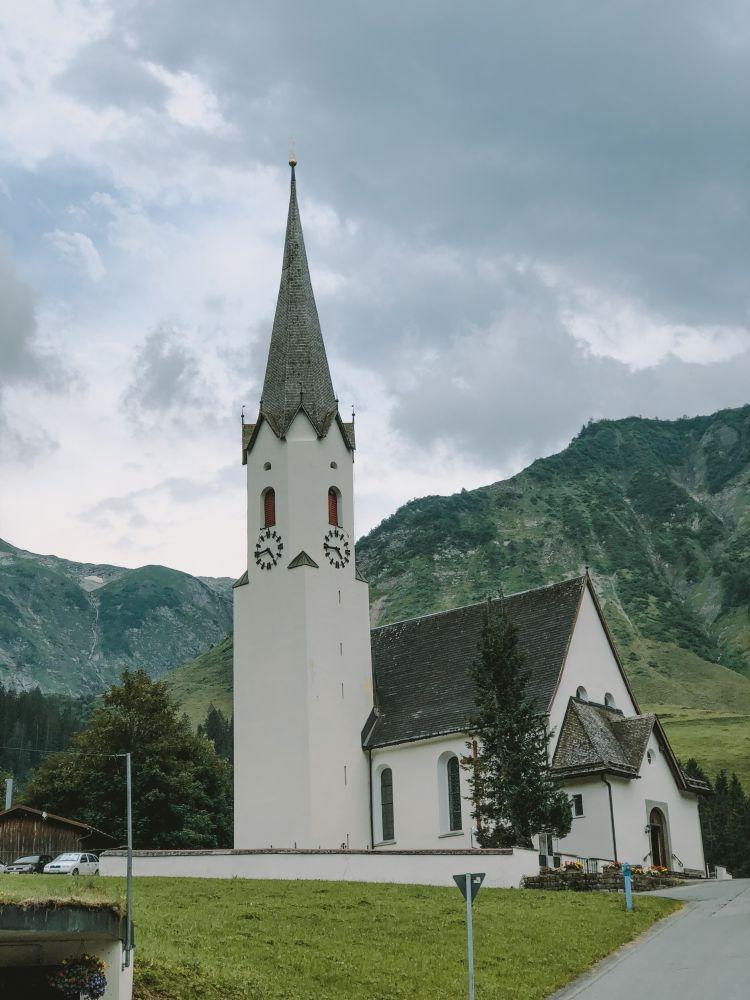Kirche in Schröcken