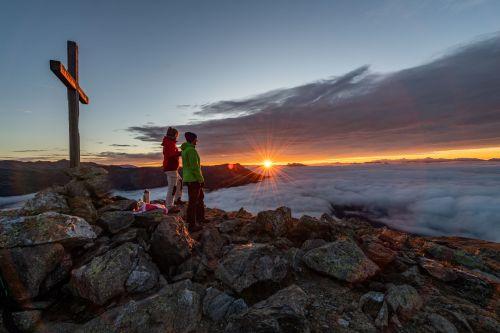 Sonnenaufgang in der Region Hohe Tauern - die Nationalpark Region in Kärnten, © Franz Gerdl