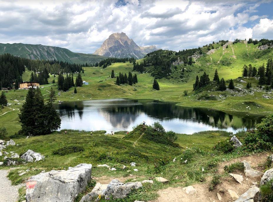 Der Körbersee, bregenzerwald (c)bea_froehlich
