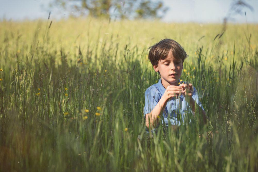 Spielend Wandern, Outdoor Spiele, Spielen auf der Wiese, ©ÖWD, Tim Ertl