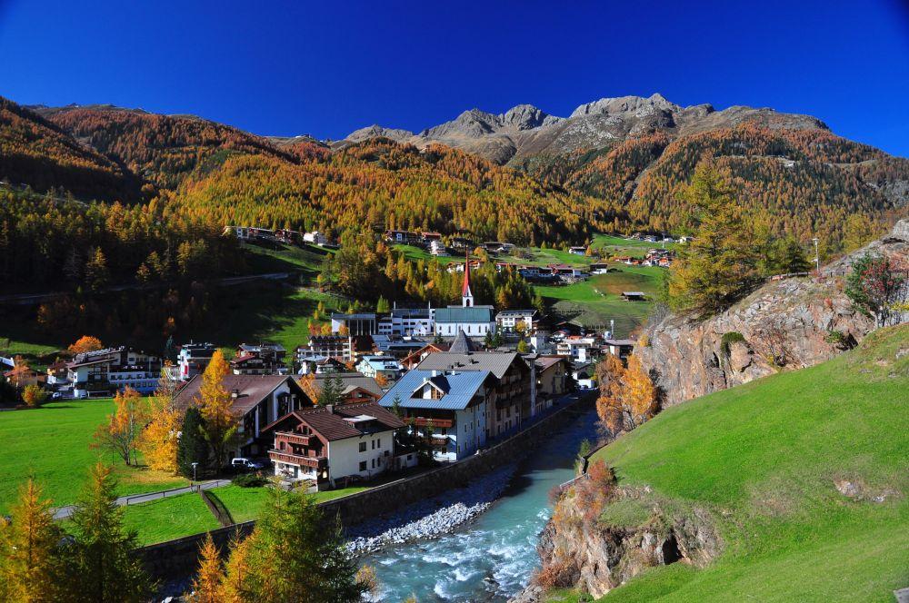 AUT,Tirol, Soelden, Oetztal, Herbst