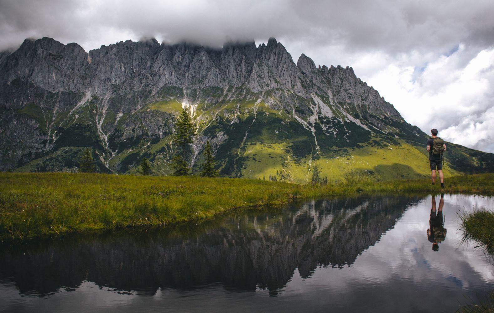 #2 Der Ausblick auf den Höchkönig vom Troiboden Bergsee