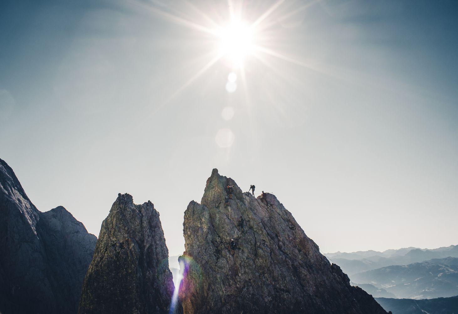 #1 Der Königsjodler Klettersteig