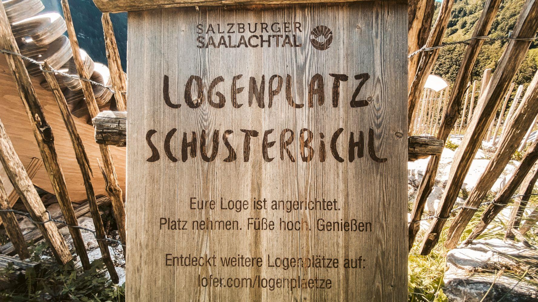 Logenplatz Schusterbichl
