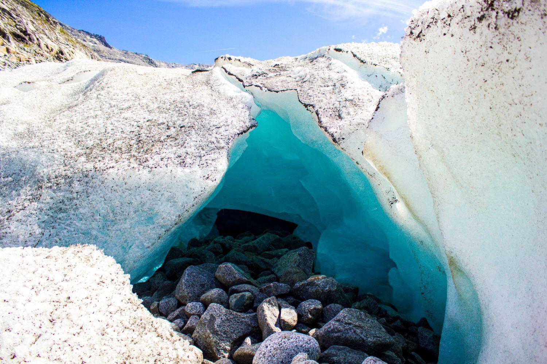 Gletscherlandschaft im Untersulzbachtal