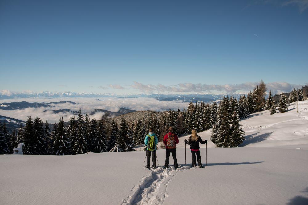2014_Winter_Schneeschuhwandern_Saualpe_Eberstein © Region Mittelkärnten