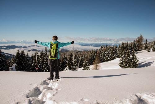 2014_Winter_Schneeschuhwandern_Saualpe_Eberstein (12)