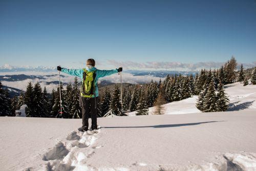 Winter Schneeschuhwandern Saualpe Eberstein © Region Mittelkärnten