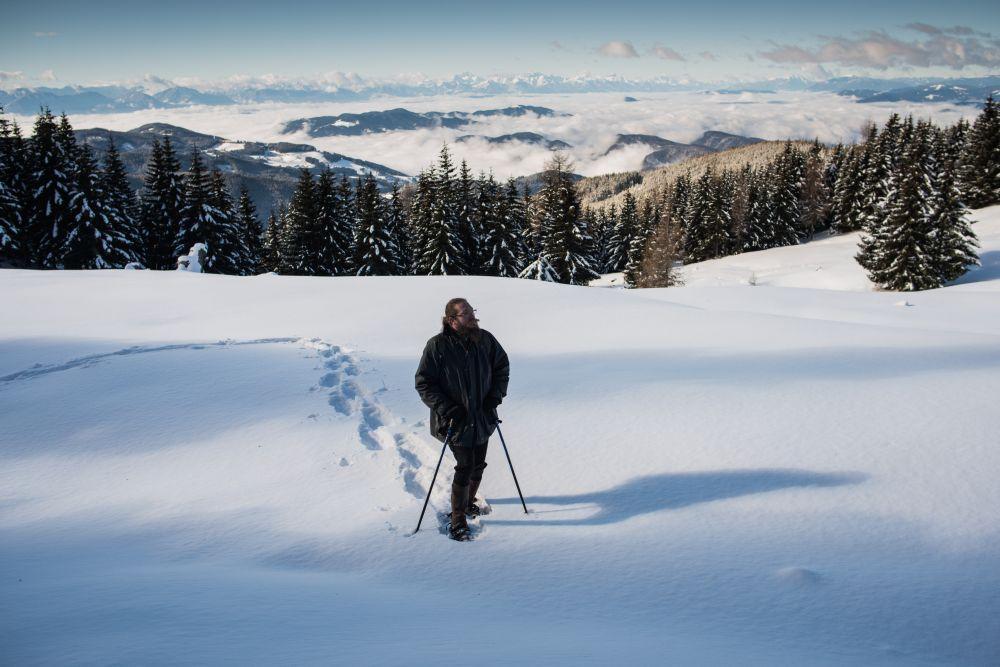 2014_Winter_Schneeschuhwandern_Saualpe_Eberstein