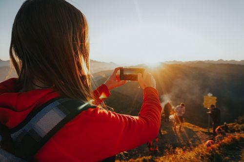 Halte den Moment mit einem Foto fest