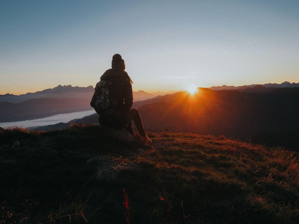 Sonnenaufgangswanderung in Flachau