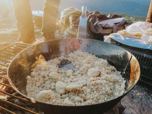 Bereite ein gutes Frühstück her
