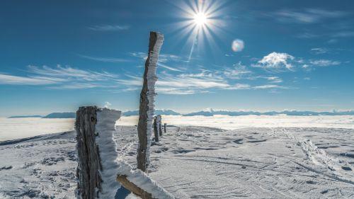 2019_Winter_Eberstein_Saualm_Görtschitztal © Region Mittelkärnten