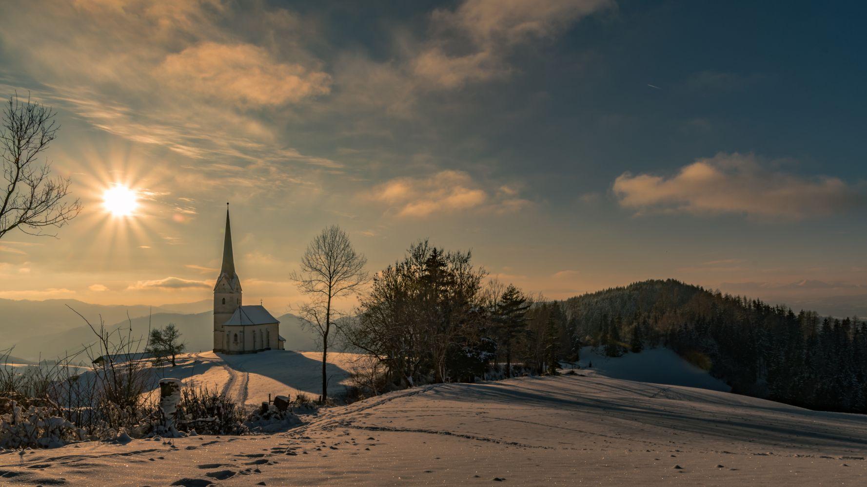 Verschneite Landschaften in Eberstein