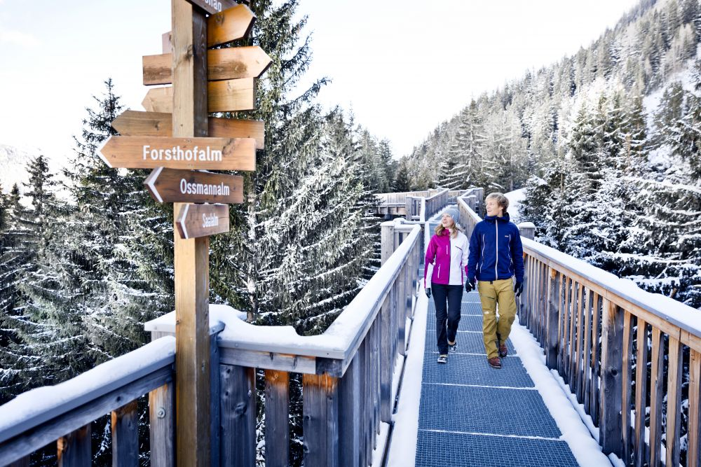 Baumzipfelweg Winter © Saalbach Hinterglemm, mirja-geh