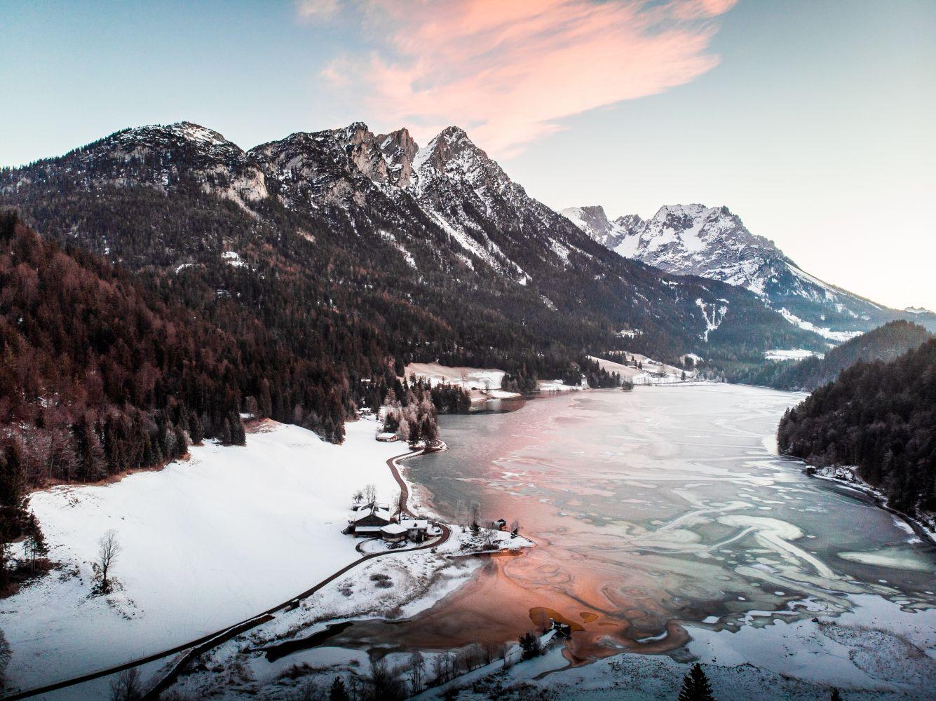 Winter am Hintersteiner See
