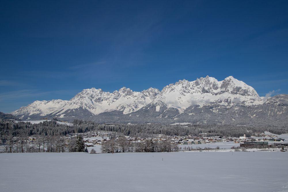Oberndorf im Winter © TVB Kitzbüheler Alpen St. Johann, Gudrun Mitterhauser