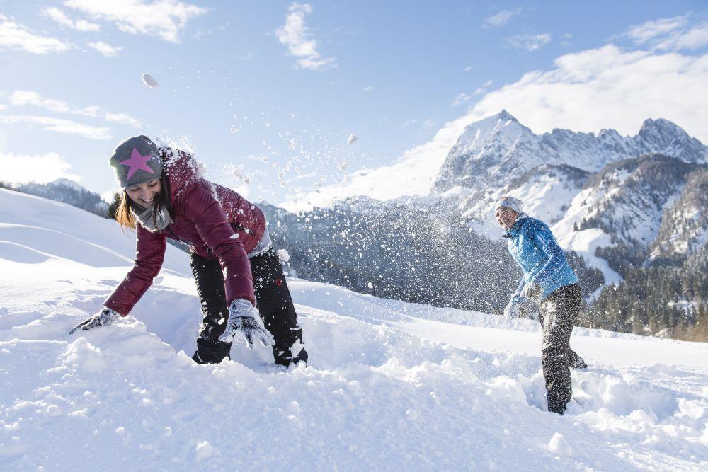 Spaß im Schnee Oberndorf © Franz Gerdl, St. Johann in Tirol