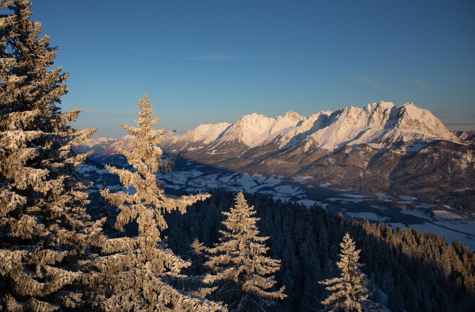 Winterliche Aussichten in Oberndorf