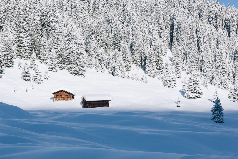 Winterwandern in  Lech Zürs am Arlberg