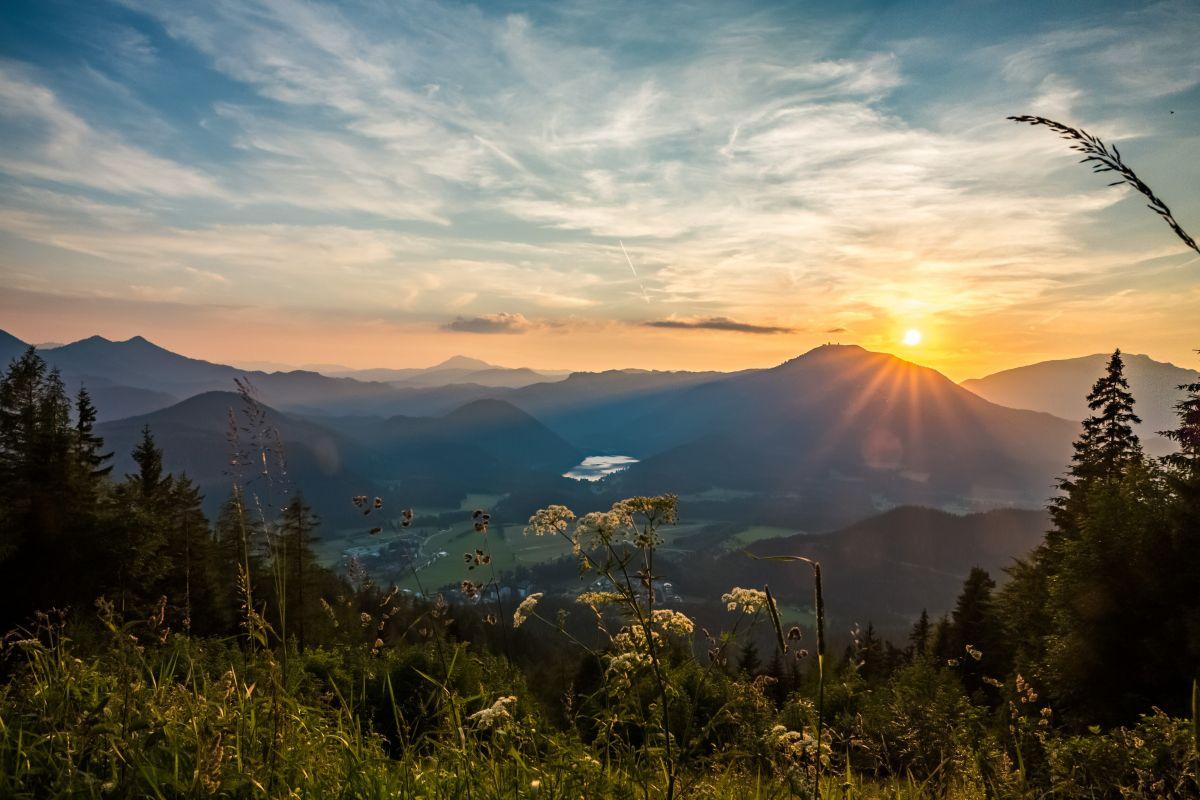 Bürgeralpe - Sonnenaufgang