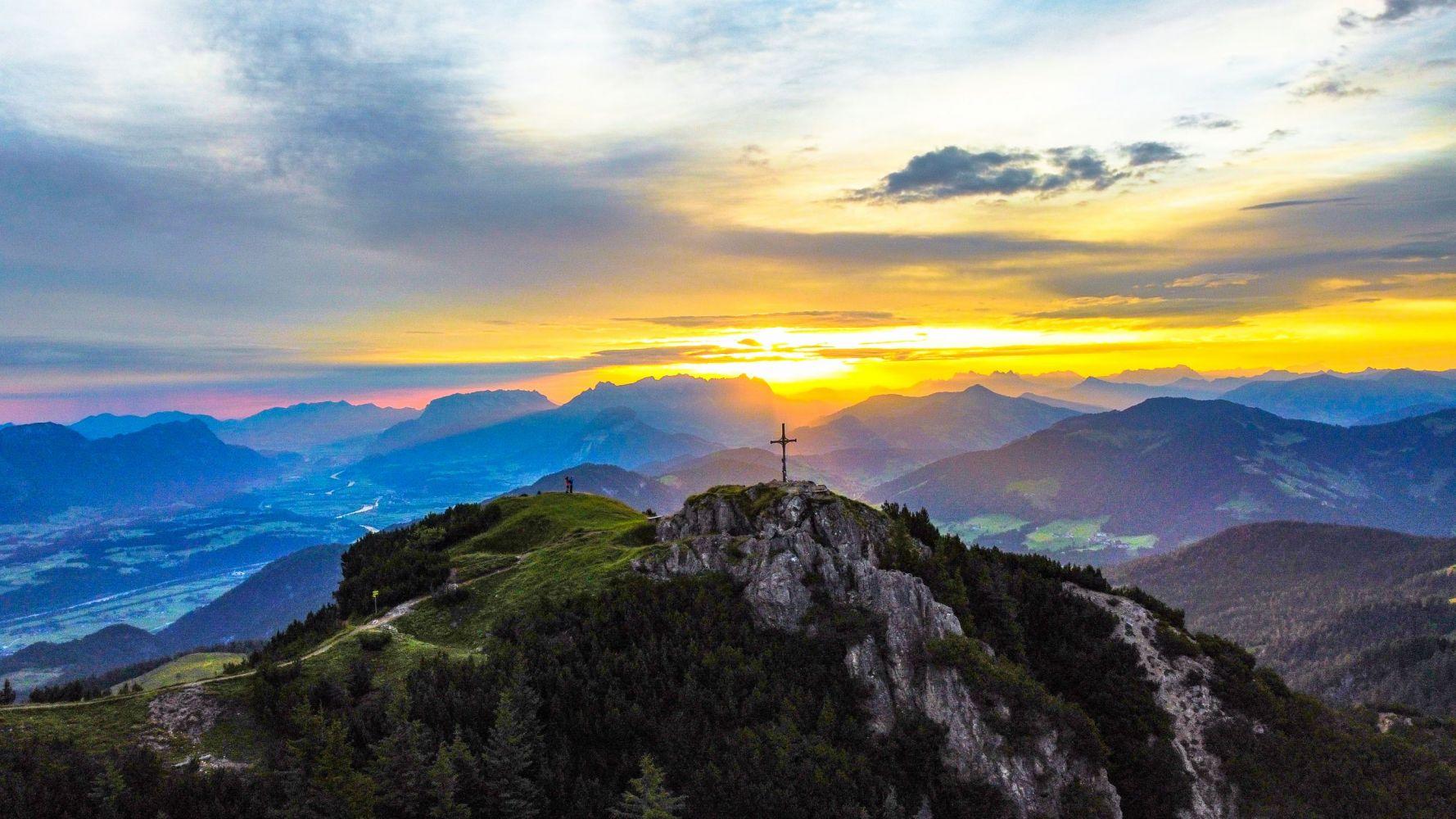 #3 Sonnenaufgang auf der Gratlspitze