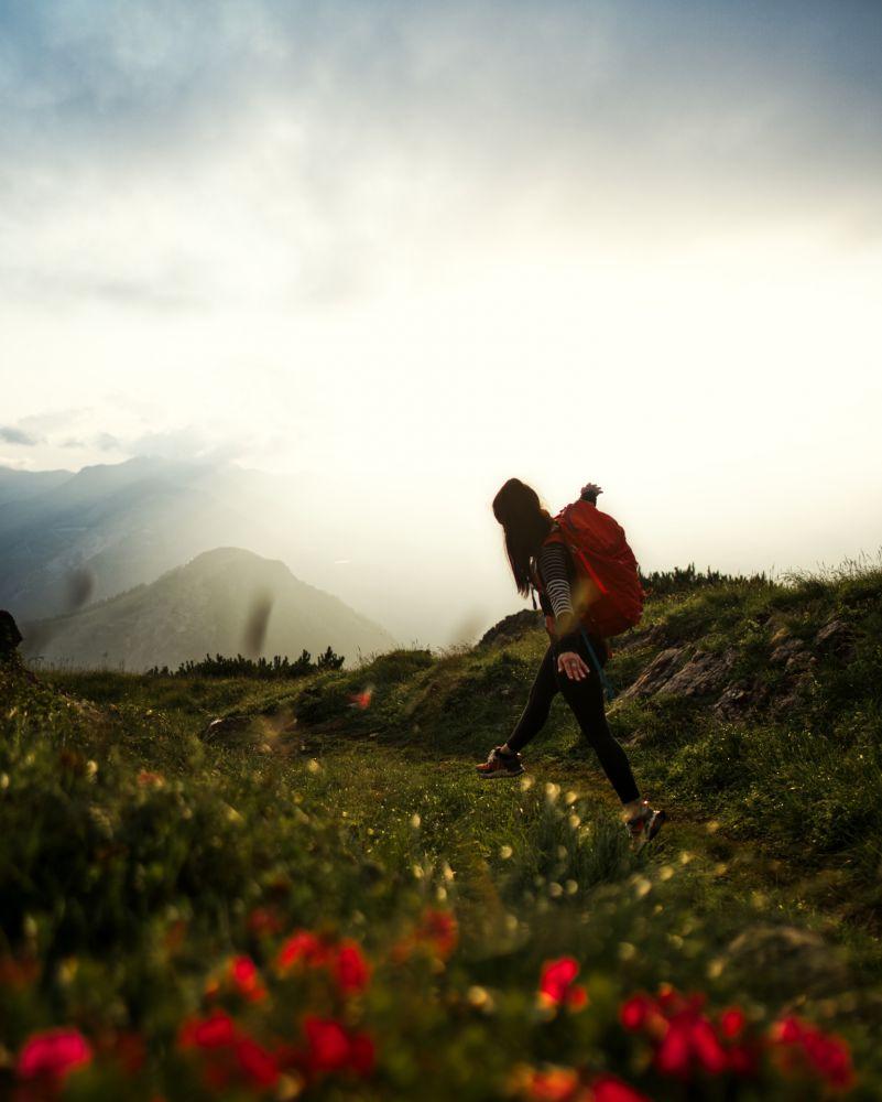 #1 Spielberghorn zum Sonnenuntergang