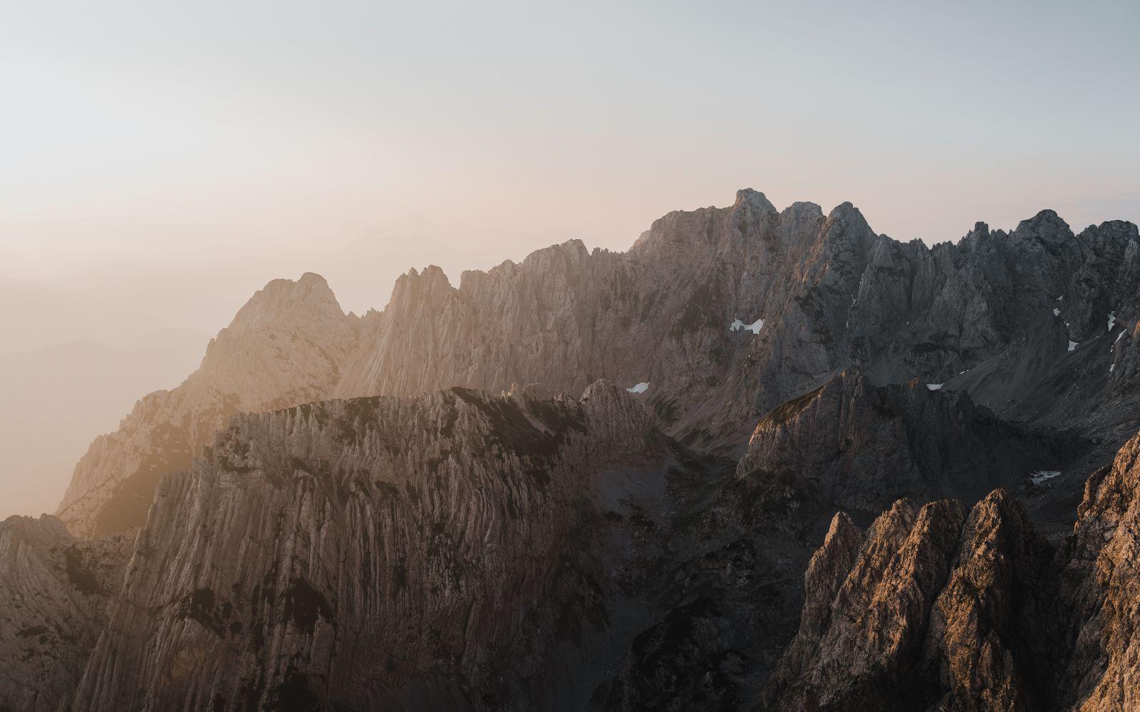 #1 Sonnenaufgang auf die hintere Goinger Halt