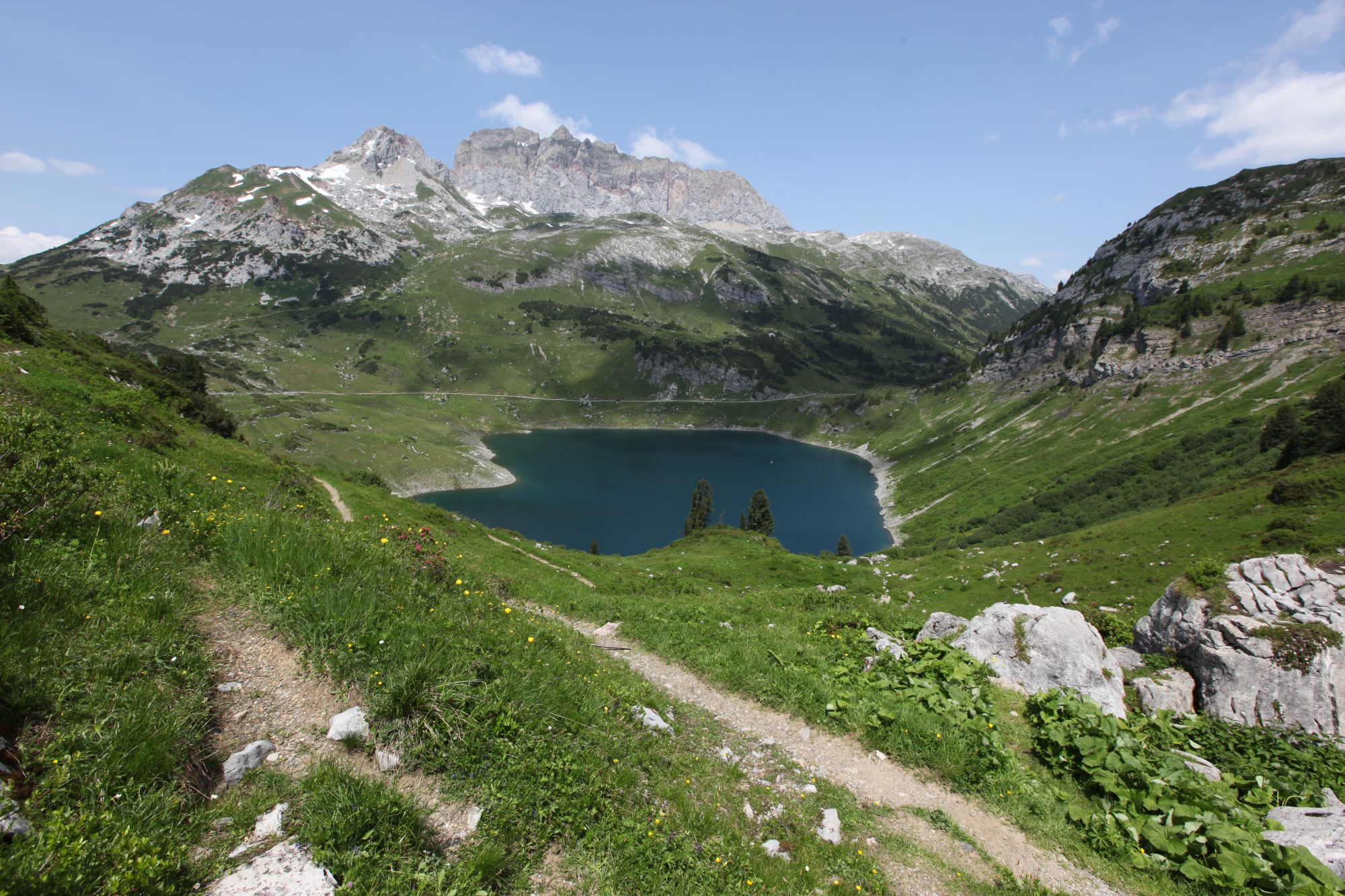 Formarinsee, © Lech Zürs Tourismus