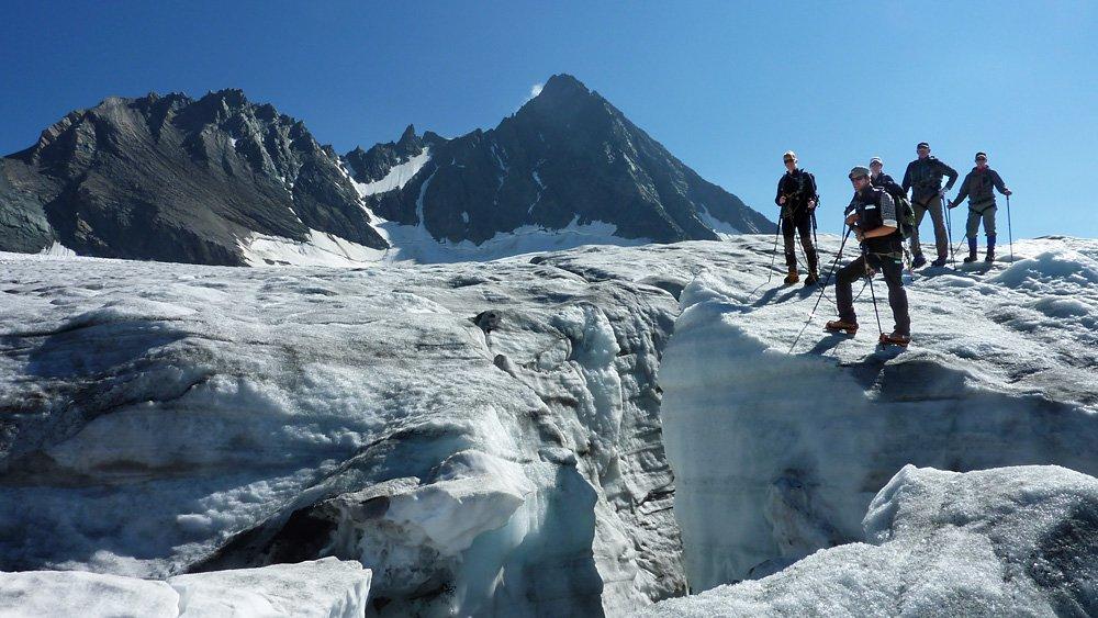 Kalser Gletscherreise, © Bergführerverein Kals am Großglockner, Nationalpark Hohe Tauern, Osttirol Werbung