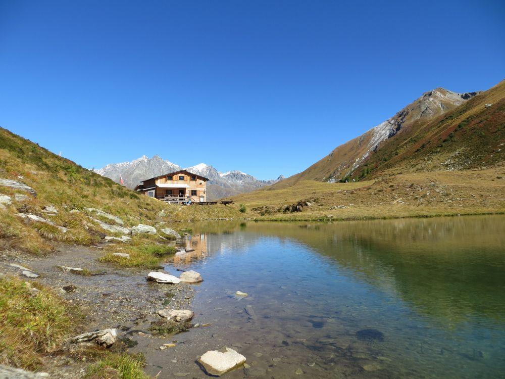Bergersee mit Bergerseehütte in Osttirol, © Osttirol Werbung